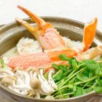 蟹の豆乳鍋