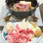 上州牛すき焼き